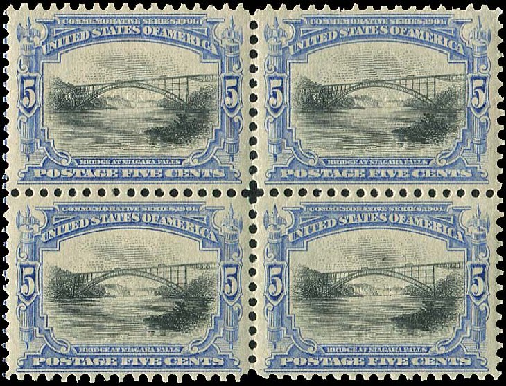 Value of US Stamps Scott 297 - 5c 1901 Pan American Exposition. Regency-Superior, Aug 2015, Sale 112, Lot 637