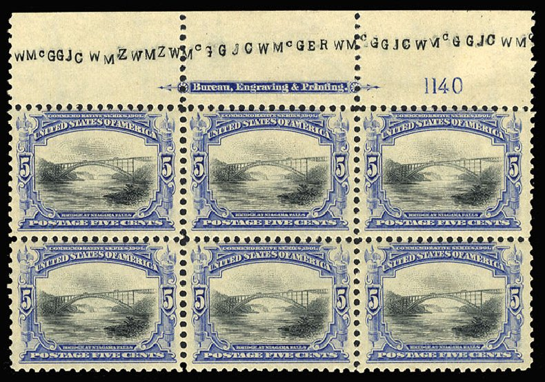 Price of US Stamps Scott Catalogue 297 - 5c 1901 Pan American Exposition. Cherrystone Auctions, Jul 2015, Sale 201507, Lot 68