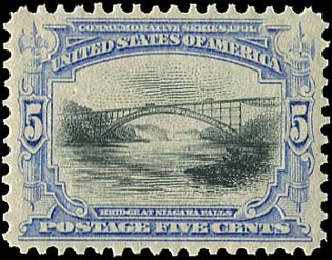Cost of US Stamp Scott Catalog #297 - 1901 5c Pan American Exposition. Regency-Superior, Aug 2015, Sale 112, Lot 638