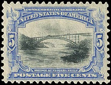 US Stamp Prices Scott Cat. #297: 5c 1901 Pan American Exposition. Regency-Superior, Aug 2015, Sale 112, Lot 639