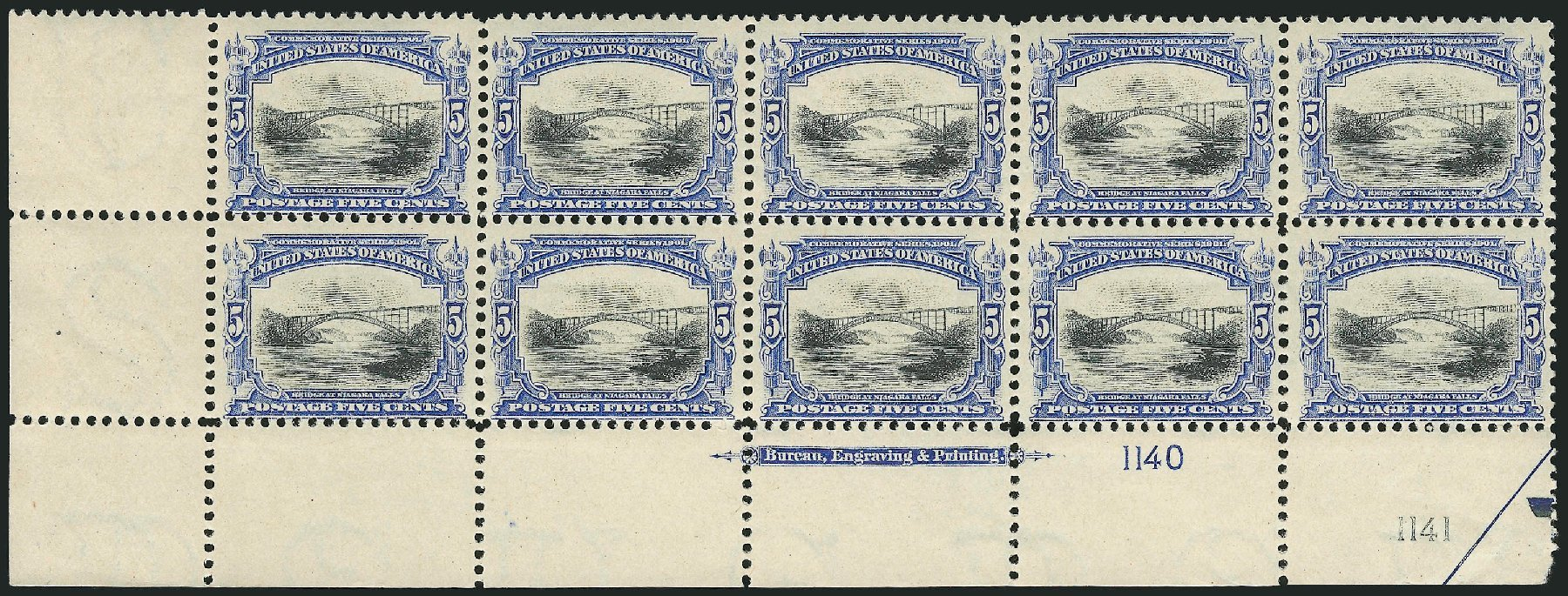 Prices of US Stamp Scott # 297: 1901 5c Pan American Exposition. Robert Siegel Auction Galleries, Nov 2014, Sale 1084, Lot 3679