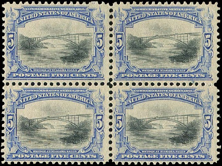 Value of US Stamp Scott Catalogue #297: 1901 5c Pan American Exposition. Regency-Superior, Aug 2015, Sale 112, Lot 640