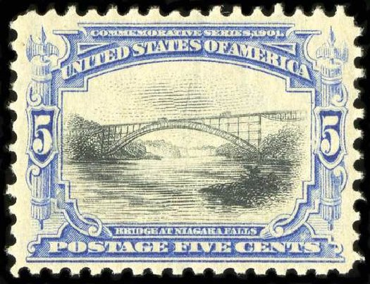 Value of US Stamps Scott Cat. #297: 5c 1901 Pan American Exposition. Spink Shreves Galleries, Jul 2015, Sale 151, Lot 245