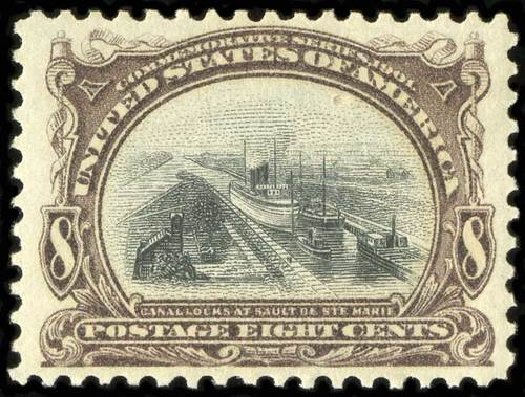 Costs of US Stamp Scott Cat. # 298 - 1901 8c Pan American Exposition. Spink Shreves Galleries, Jul 2015, Sale 151, Lot 247
