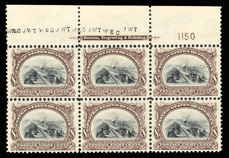 Price of US Stamp Scott #298 - 1901 8c Pan American Exposition. Cherrystone Auctions, Jul 2015, Sale 201507, Lot 69