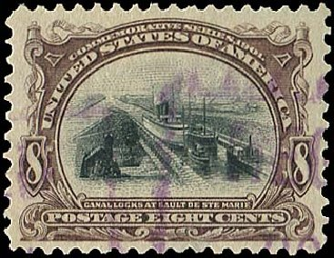 Cost of US Stamp Scott Catalog #298: 1901 8c Pan American Exposition. Regency-Superior, Aug 2015, Sale 112, Lot 641