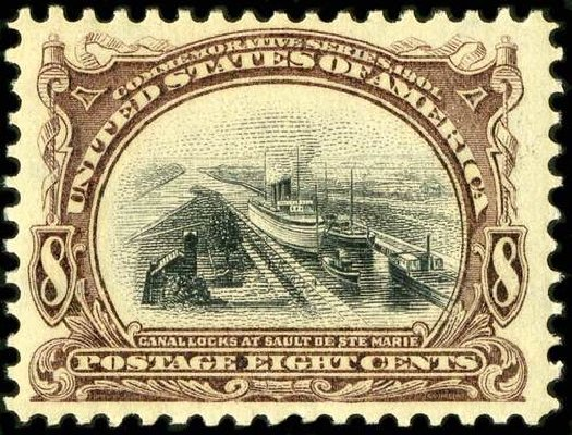 Price of US Stamp Scott #298: 1901 8c Pan American Exposition. Spink Shreves Galleries, Jul 2015, Sale 151, Lot 246