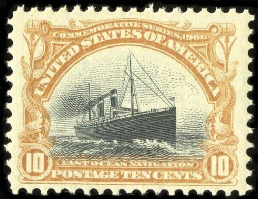 Price of US Stamp Scott Catalogue 299: 10c 1901 Pan American Exposition. Spink Shreves Galleries, Jul 2015, Sale 151, Lot 248