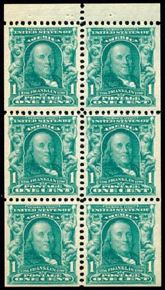US Stamps Prices Scott Catalog 300 - 1903 1c Franklin. Schuyler J. Rumsey Philatelic Auctions, Apr 2015, Sale 60, Lot 2709
