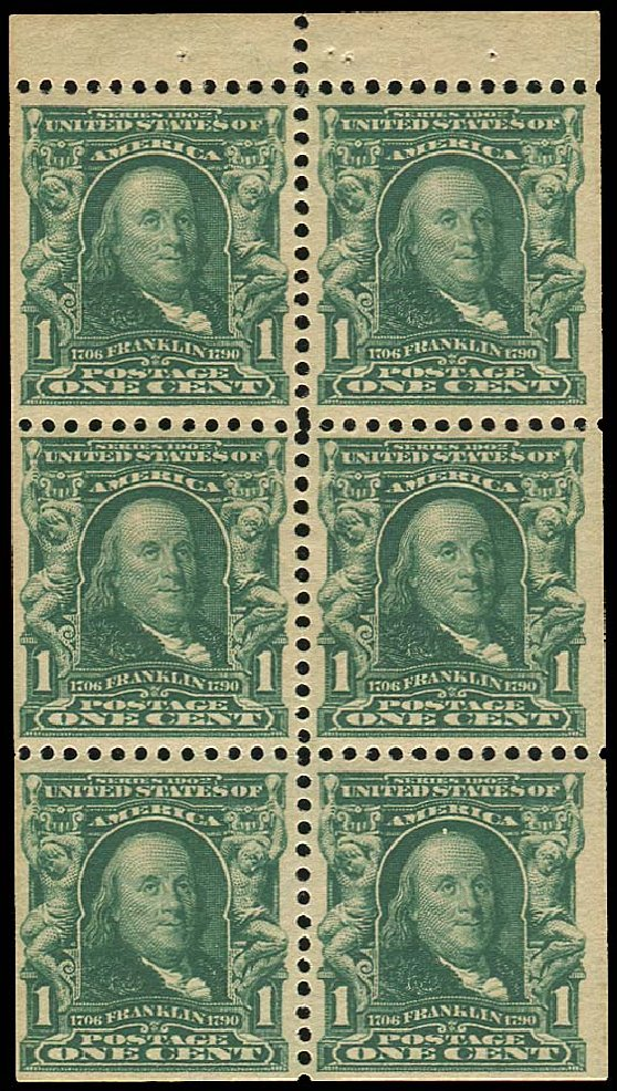 Prices of US Stamps Scott Catalogue #300: 1c 1903 Franklin. Regency-Superior, Nov 2014, Sale 108, Lot 650