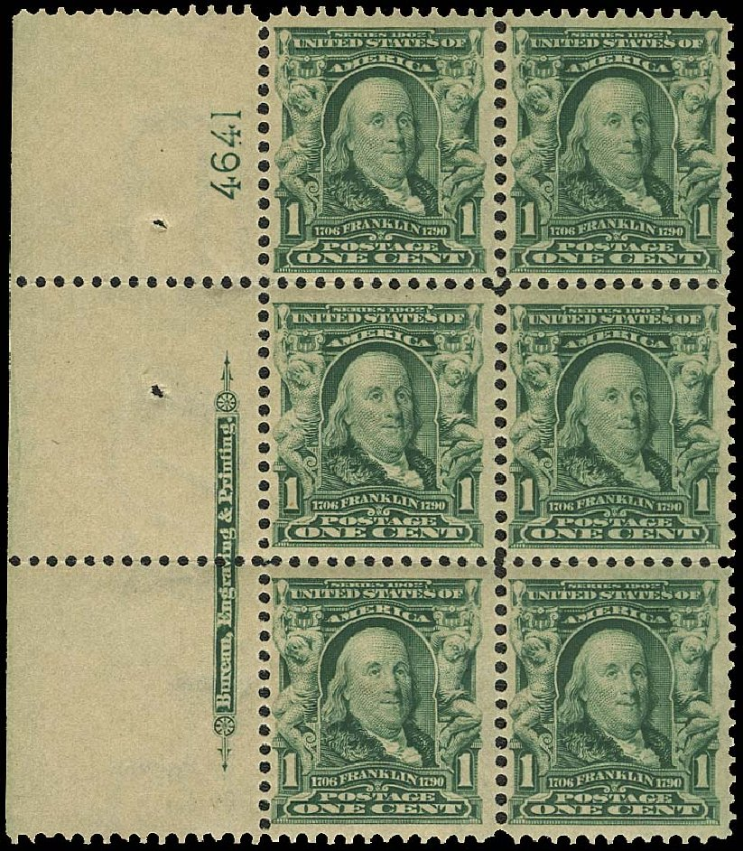 Price of US Stamp Scott # 300: 1c 1903 Franklin. Regency-Superior, Aug 2015, Sale 112, Lot 1300