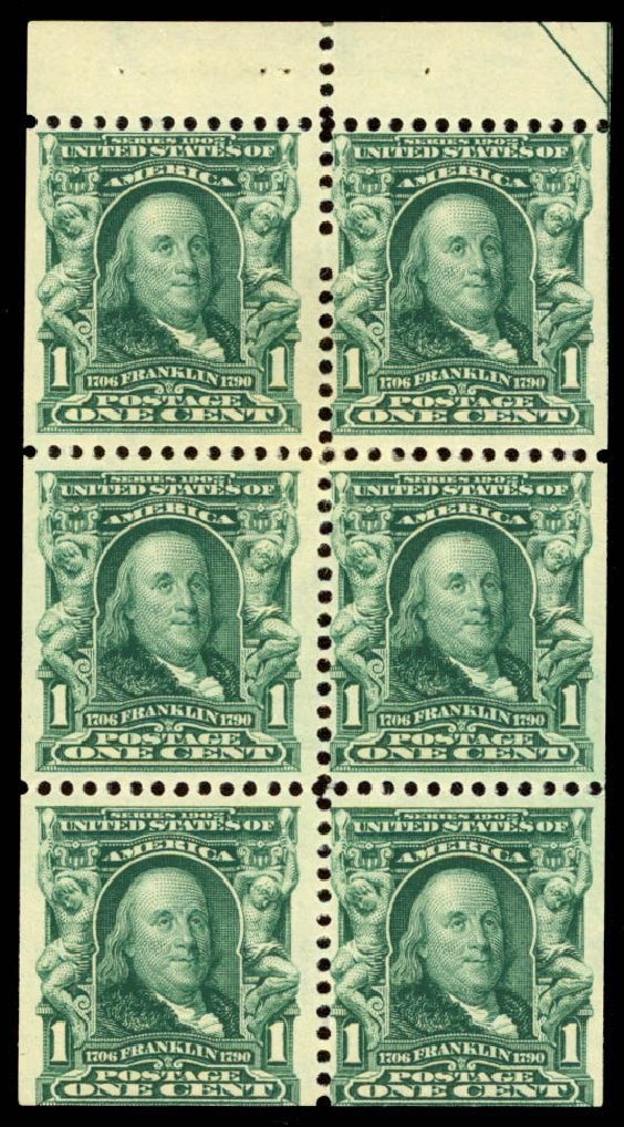 Costs of US Stamp Scott #300 - 1c 1903 Franklin. Daniel Kelleher Auctions, Dec 2013, Sale 640, Lot 274