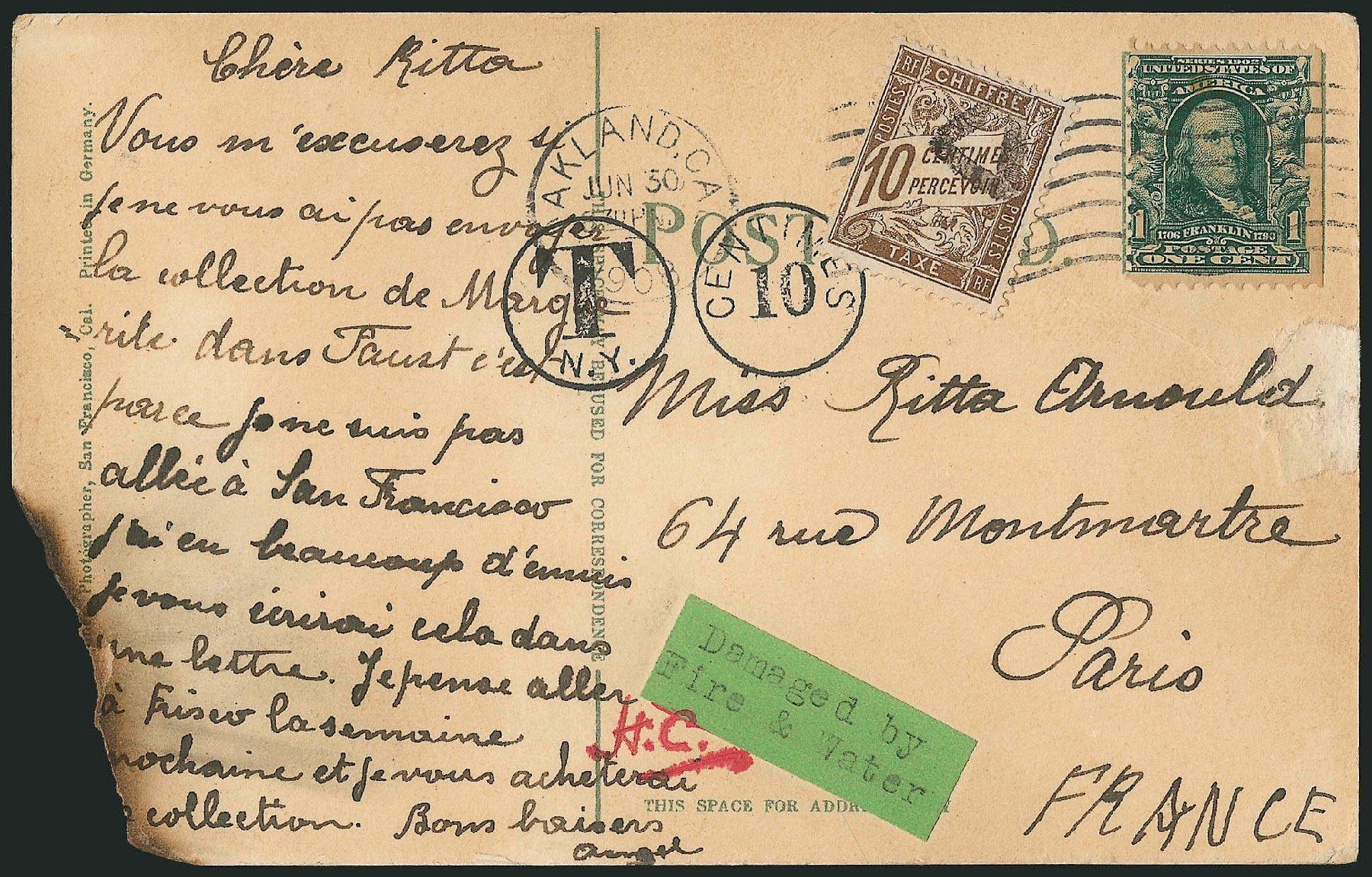 Value of US Stamps Scott Cat. # 300 - 1903 1c Franklin. Robert Siegel Auction Galleries, Jun 2015, Sale 1105, Lot 2642