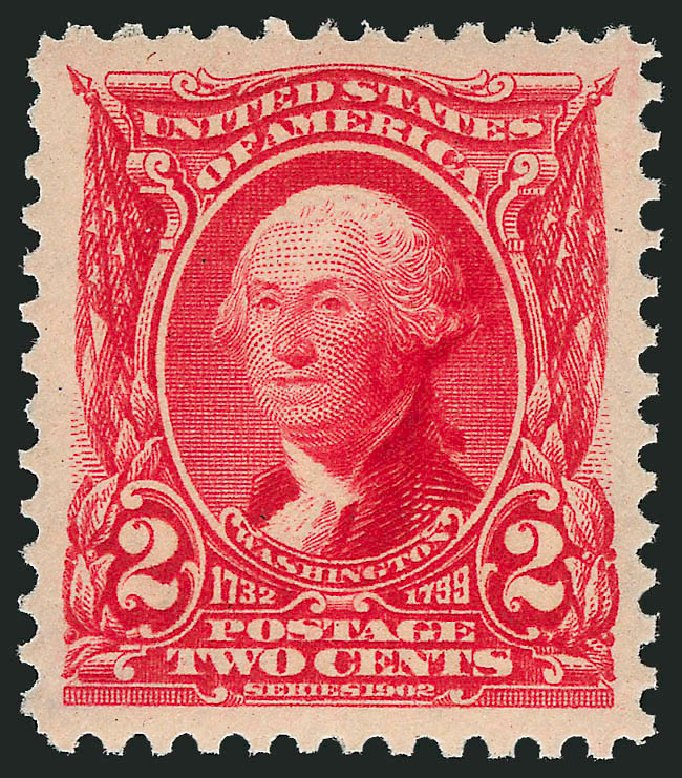 US Stamps Price Scott Catalogue 301: 1903 2c Washington. Robert Siegel Auction Galleries, Feb 2015, Sale 1093, Lot 7