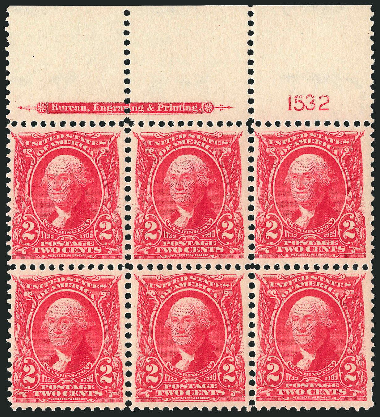 Prices of US Stamps Scott Catalogue # 301 - 2c 1903 Washington. Robert Siegel Auction Galleries, Feb 2015, Sale 1093, Lot 8