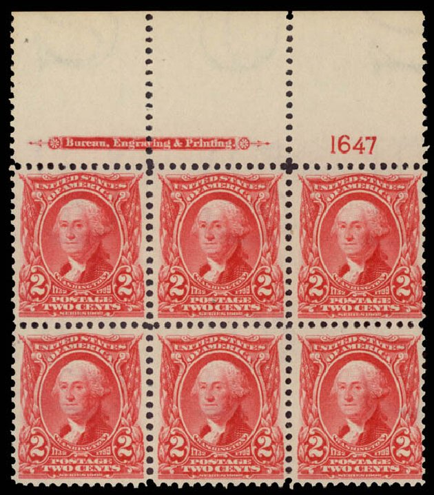 Cost of US Stamp Scott Cat. #301 - 2c 1903 Washington. Daniel Kelleher Auctions, May 2015, Sale 669, Lot 2849