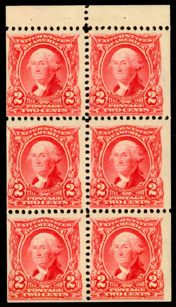 US Stamp Prices Scott Cat. # 301 - 2c 1903 Washington. Daniel Kelleher Auctions, May 2015, Sale 669, Lot 2850