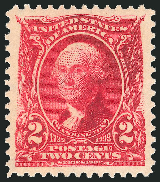 Value Of US Stamp Scott 301 1903 2c Washington Robert Siegel Auction Galleries