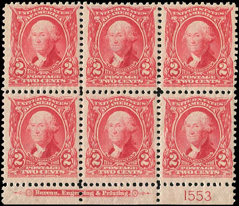 Cost of US Stamp Scott Cat. # 301 - 1903 2c Washington. Regency-Superior, Nov 2014, Sale 108, Lot 1285