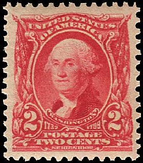Price of US Stamps Scott Catalogue #301 - 1903 2c Washington. Regency-Superior, Aug 2015, Sale 112, Lot 652