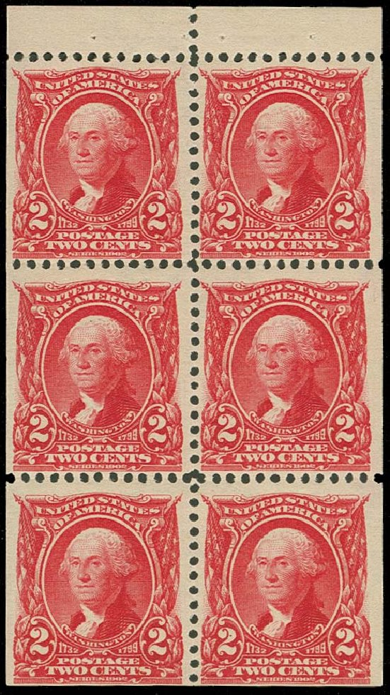 US Stamps Value Scott Catalog 301: 1903 2c Washington. H.R. Harmer, Oct 2014, Sale 3006, Lot 1313