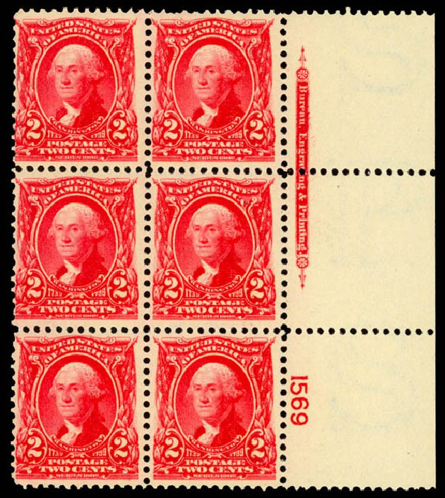 Prices of US Stamps Scott Cat. #301 - 2c 1903 Washington. Daniel Kelleher Auctions, Jan 2015, Sale 663, Lot 1603