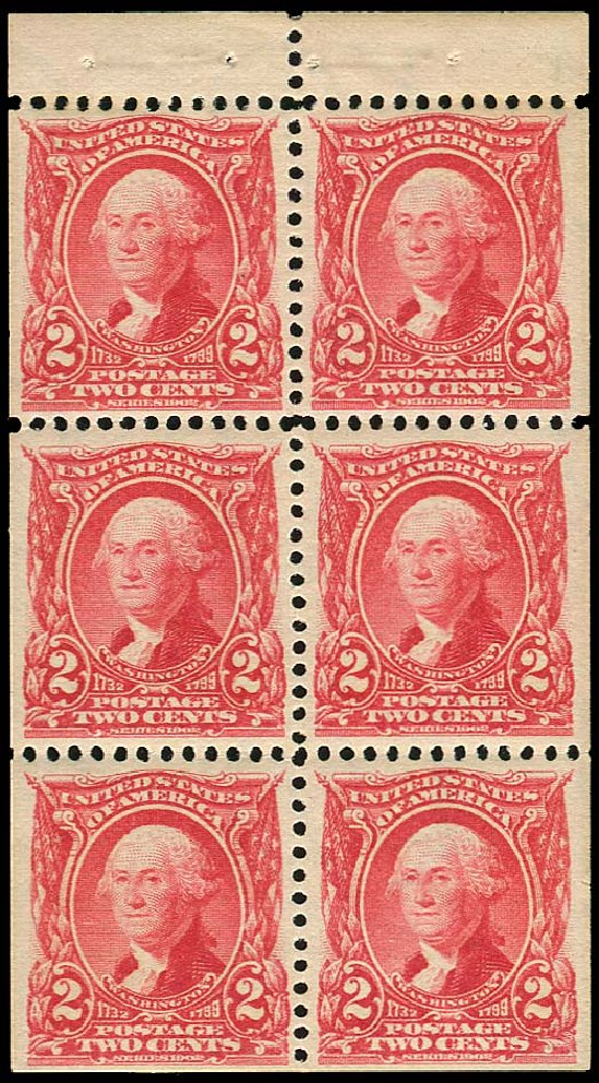 US Stamps Value Scott # 301 - 2c 1903 Washington. Regency-Superior, Nov 2014, Sale 108, Lot 653