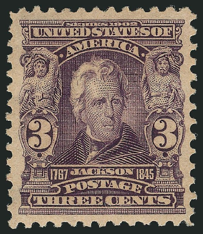 Prices of US Stamp Scott Cat. # 302: 1903 3c Jackson. Robert Siegel Auction Galleries, Apr 2015, Sale 1096, Lot 539
