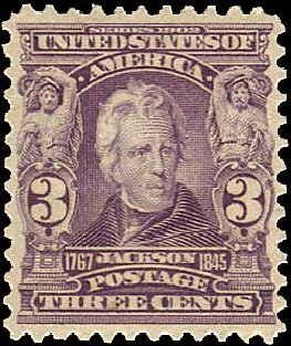 Values of US Stamps Scott Cat. # 302 - 3c 1903 Jackson. Regency-Superior, Nov 2014, Sale 108, Lot 654