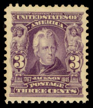 Cost of US Stamp Scott Catalog # 302: 3c 1903 Jackson. Daniel Kelleher Auctions, Oct 2014, Sale 660, Lot 2306