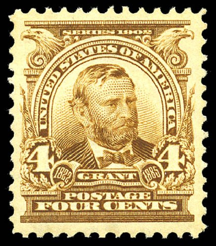 Prices of US Stamps Scott Catalog #303: 4c 1903 Grant. Matthew Bennett International, May 2014, Sale 350, Lot 449