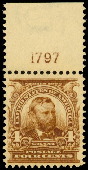 Costs of US Stamp Scott Catalog # 303 - 1903 4c Grant. Daniel Kelleher Auctions, Jan 2015, Sale 663, Lot 1610