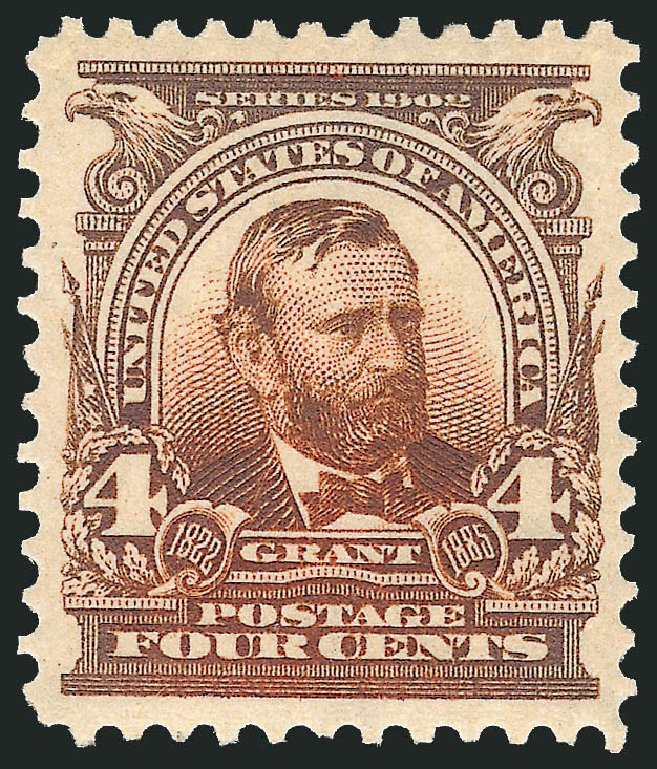 Cost of US Stamps Scott Catalog 303 - 1903 4c Grant. Robert Siegel Auction Galleries, Dec 2013, Sale 1062, Lot 485