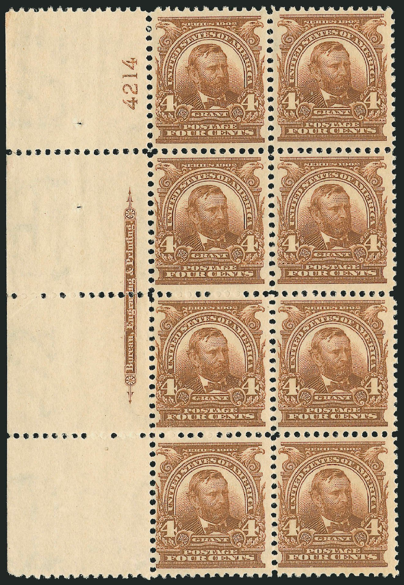 Prices of US Stamp Scott Catalogue # 303: 4c 1903 Grant. Robert Siegel Auction Galleries, Feb 2015, Sale 1093, Lot 12