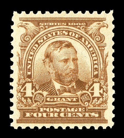 Value of US Stamps Scott Cat. # 303: 1903 4c Grant. Spink Shreves Galleries, May 2014, Sale 148, Lot 252