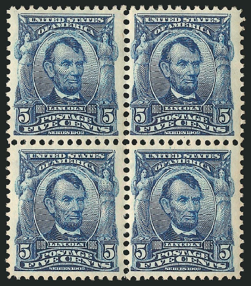 Cost of US Stamps Scott # 304: 1903 5c Lincoln. Robert Siegel Auction Galleries, Apr 2015, Sale 1096, Lot 540