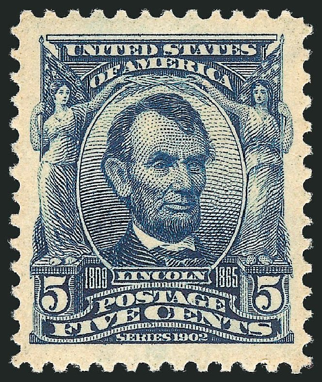 Price of US Stamp Scott Catalogue 304 - 5c 1903 Lincoln. Robert Siegel Auction Galleries, Dec 2013, Sale 1062, Lot 486
