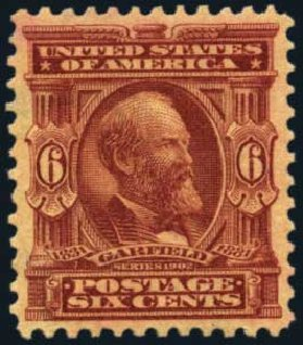 Cost of US Stamp Scott #305 - 6c 1903 Garfield. Harmer-Schau Auction Galleries, Aug 2012, Sale 94, Lot 1464