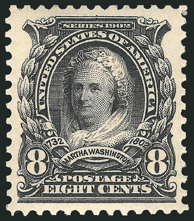 Prices of US Stamp Scott Cat. # 306: 1902 8c Martha Washington. Robert Siegel Auction Galleries, Feb 2015, Sale 1092, Lot 1261