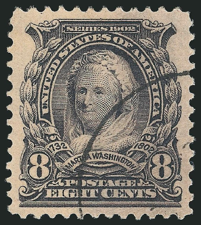 US Stamp Value Scott 306 - 1902 8c Martha Washington. Robert Siegel Auction Galleries, Mar 2013, Sale 1040, Lot 1655