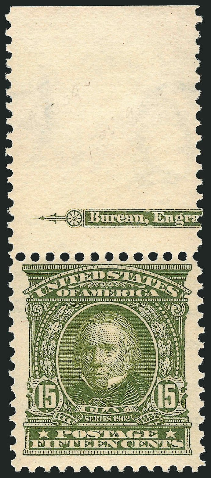 US Stamps Prices Scott Catalogue # 309: 15c 1903 Henry Clay. Robert Siegel Auction Galleries, Apr 2015, Sale 1096, Lot 541