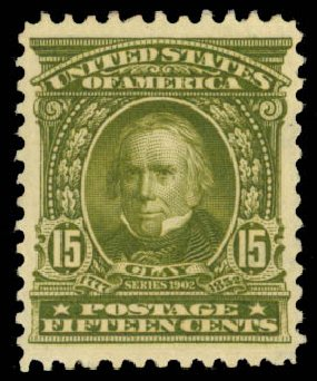 US Stamp Prices Scott Catalogue #309 - 15c 1903 Henry Clay. Daniel Kelleher Auctions, Jan 2015, Sale 663, Lot 1614