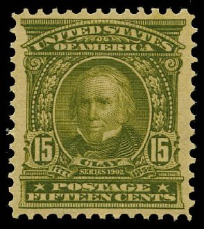 US Stamp Prices Scott Catalog #309 - 15c 1903 Henry Clay. Daniel Kelleher Auctions, May 2015, Sale 669, Lot 2855