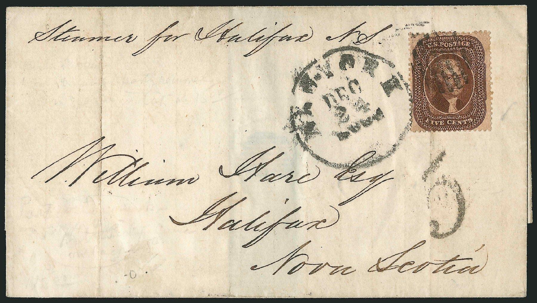 Costs of US Stamps Scott Cat. # 30A: 5c 1860 Jefferson. Robert Siegel Auction Galleries, Nov 2014, Sale 1084, Lot 3148