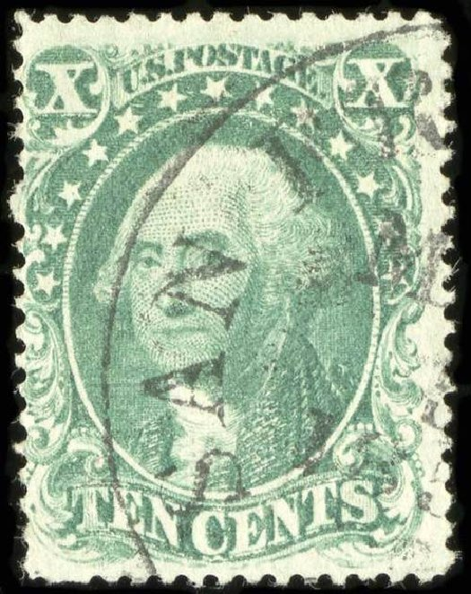 Values of US Stamp Scott Catalog # 31: 1857 10c Washington. Spink Shreves Galleries, Jul 2015, Sale 151, Lot 51