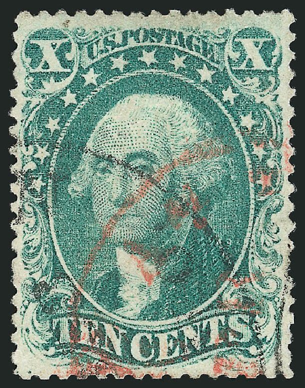 Prices of US Stamps Scott #31: 1857 10c Washington. Robert Siegel Auction Galleries, Apr 2015, Sale 1096, Lot 75