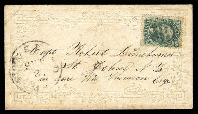 Costs of US Stamps Scott Cat. #31 - 1857 10c Washington. Cherrystone Auctions, Jul 2015, Sale 201507, Lot 23