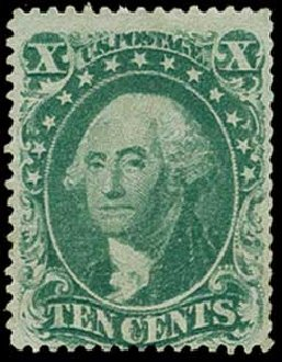 Prices of US Stamp Scott # 31 - 10c 1857 Washington. H.R. Harmer, Jun 2015, Sale 3007, Lot 3123