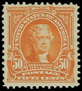 US Stamp Value Scott # 310 - 50c 1903 Jefferson. H.R. Harmer, Jun 2015, Sale 3007, Lot 3297
