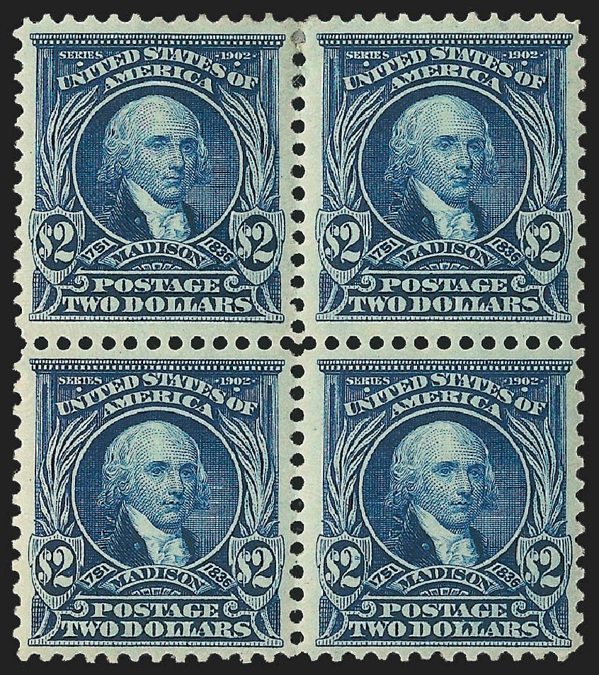 Cost of US Stamp Scott # 312: US$2.00 1903 Madison. Robert Siegel Auction Galleries, Jul 2015, Sale 1107, Lot 417